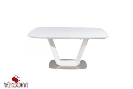 Стол Vetro TML-770 белый МДФ+матовое стекло