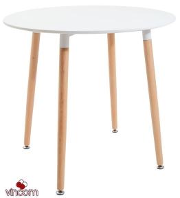 Стол Richman Ксавьер 80 см белый круглый