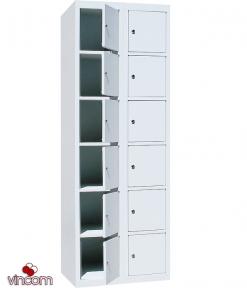 Шкаф ячеечный Ferocon НЯ-212-01-08х18х05-7035