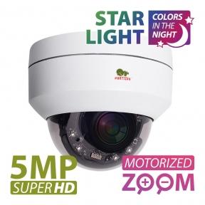 IP-видеокамера Варифокальная Partizan IPD-VF5MP-IR PTZ Starlight