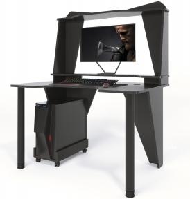 Стол геймерский ZEUS IVAR-3 черный