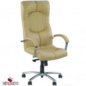 Кресло Новый Стиль GERMES steel chrome (Экокожа)