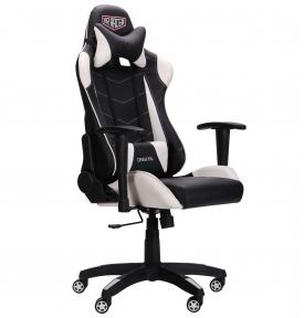 Кресло AMF VR Racer Blade черный/белый