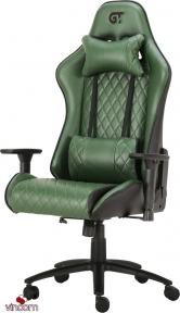 Кресло геймерское GT RACER X-2540 BLACK/DARK GREEN