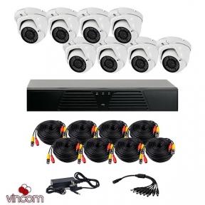 Комплект AHD видеонаблюдения CoVi Security HVK-4006 AHD PRO KIT