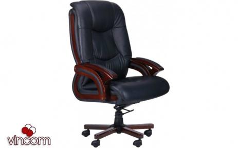 Кресло AMF Ванкувер кожа черная (625-B+PVC)