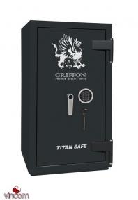 Сейф огне-взломостойкий GRIFFON CL II.90.K.E