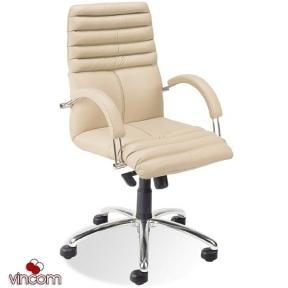 Кресло Новый Стиль GALAXY steel LB chrome (Экокожа)