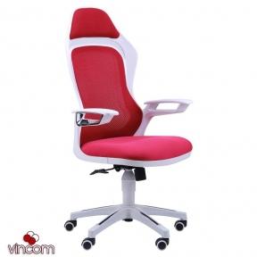 Кресло AMF Spider GTX сетка красная, каркас белый