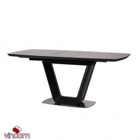 Стол Concepto GLOUCESTER 140-180см тёмно-серый