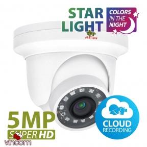 Камера IP Partizan IPD-5SP-IR Starlight 1.0 Cloud 5.0MP