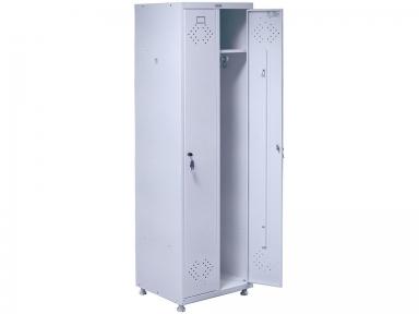 Шкаф медицинский гардеробный Hilfe МД2 ШМ-SS