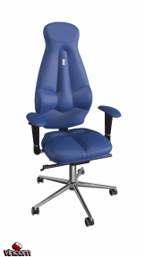 Кресло Kulik System Galaxy синий (ID 1105)