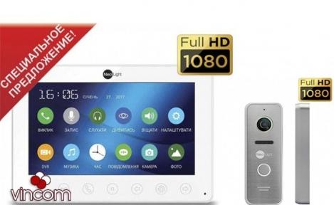 Комплект видеодомофона NeoLight Omega plus HD и Prime FHD