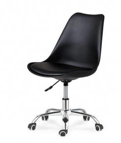 Кресло SDM Астер с подушкой черный