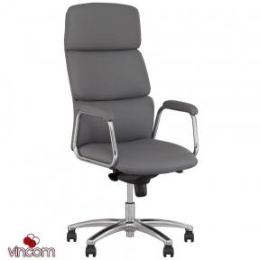 Кресло Новый Стиль CALIFORNIA steel chrome (Кожа Люкс LE)