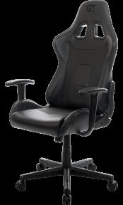 Кресло геймерское GT Racer X-2317 Black/Carbon Black