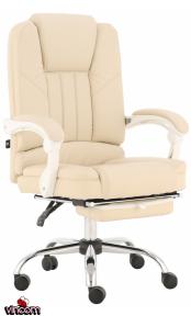 Кресло GT Racer X-2976 Footrest Cream
