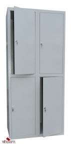 Шкаф ячеечный Ferocon НЯ-24-01-06х18х05-7035