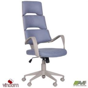 Кресло AMF Spiral Grey сине-серый