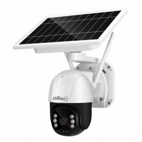 Беспроводная IP-видеокамера Oltec IPC-322SW-G  c солнечной батареей поворотная WiFi-4G
