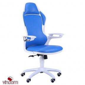 Кресло AMF Racer к/з синий