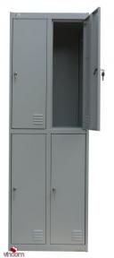 Шкаф для одежды  ШМО 24-01-08х18х05-Ц-7035