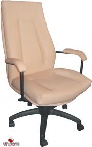 Кресло Примтекс Плюс Rikaro Alum (кожа Люкс)