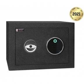 Сейф мебельный Griffon M.30.FP BLACK биометрика с отпечатком пальца