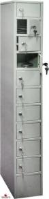 Шкаф металлический МШ 10