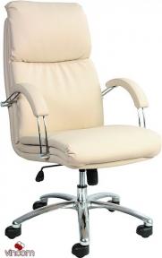 Кресло Примтекс Плюс Nadir Steel (кожа Люкс)