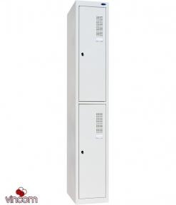Шафа одежна металева ШОМ-300/1-2