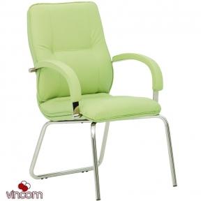 Кресло Новый Стиль STAR steel CFA LB chrome (Экокожа)