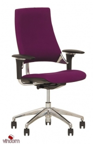 Кресло Новый Стиль HIP HOP R Black (Ткань Microfibre)