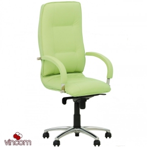 Кресло Новый Стиль STAR steel chrome (Экокожа)