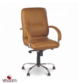 Кресло НОВЫЙ  СТИЛЬ  Star  steel LB chrome (Кожа Сплит  SP-A)