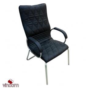 Кресло Новый Стиль ALLEGRO steel CFA LB chrome (Экокожа)