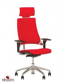 Кресло Новый Стиль HIP HOP R HR Black (Кожа Люкс LE)