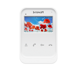 Видеодомофон Intercom IM-01L White