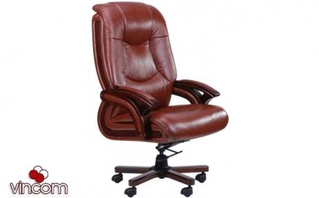 Кресло AMF Ванкувер кожа коричневая (625-B+PVC)