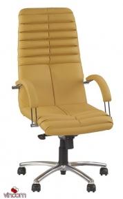 Кресло Новый Стиль GALAXY steel chrome (Экокожа)