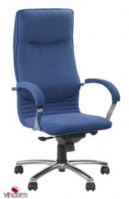 Кресло Новый Стиль NOVA steel chrome (Кожа Люкс LE)