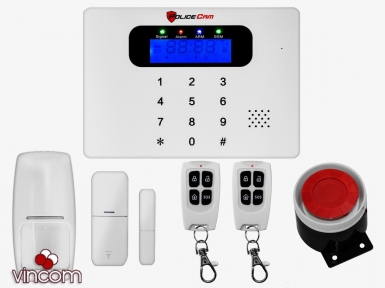 Комплект беспроводной сигнализации PoliceCam GSM 30C Prof