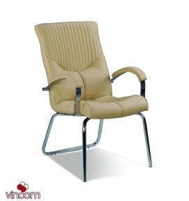 Кресло Новый Стиль GERMES steel CFA LB chrome (Экокожа)
