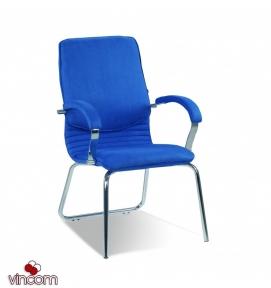 Кресло Новый Стиль NOVA steel CFA LB chrome (Экокожа)