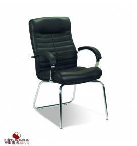 Кресло Новый Стиль ORION steel CFA LB chrome (Экокожа)