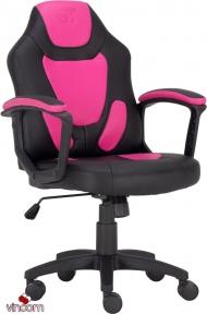 Кресло геймерское детское GT RACER X-1414 BLACK/PINK