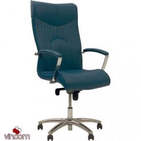 Кресло Новый Стиль FELICIA steel chrome (Экокожа)
