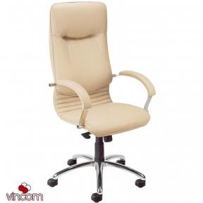 Кресло Новый Стиль NOVA steel chrome (Экокожа)