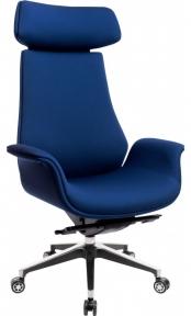 Кресло офисное GT RACER X-L18 FABRIC DARK BLUE